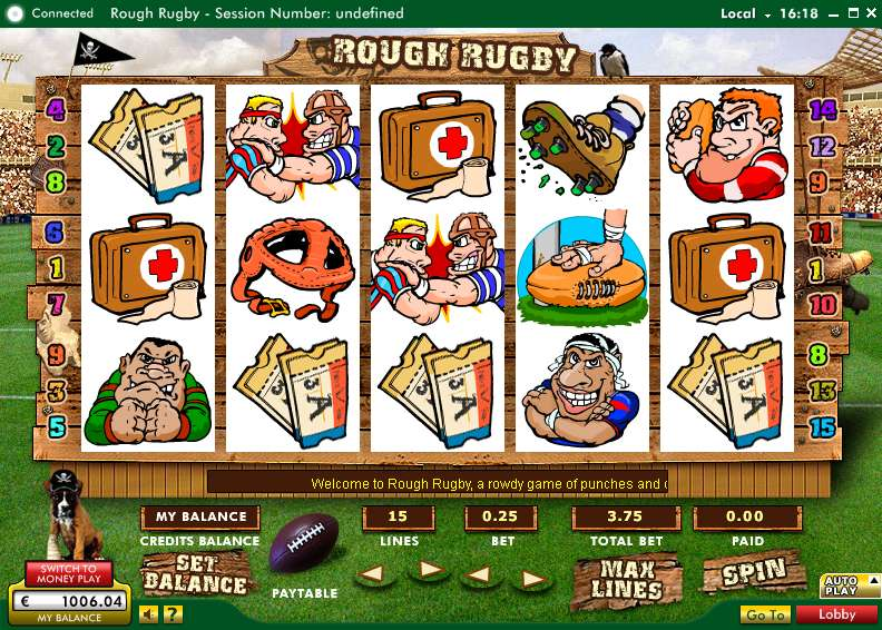 Game Review Rough Rugby