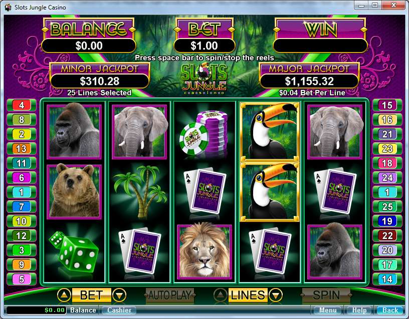 Game Review Slots Jungle