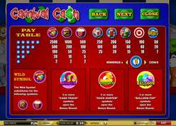 Game Review Carnival Cash
