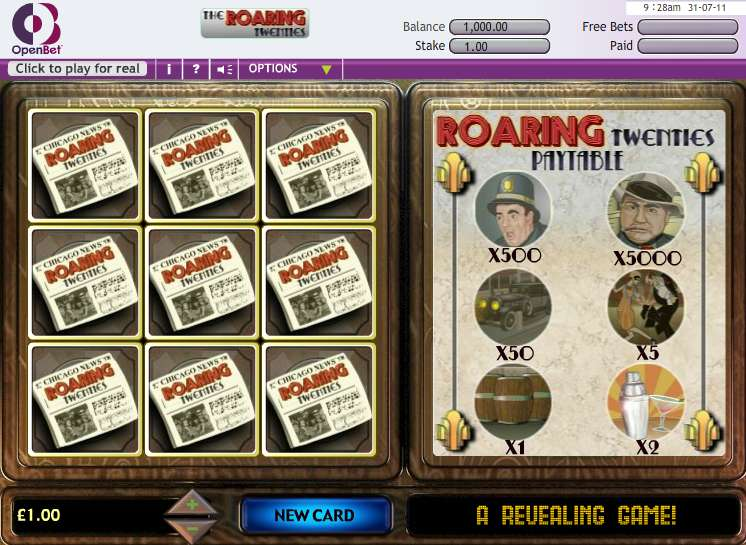 Game Review Roaring Twenties