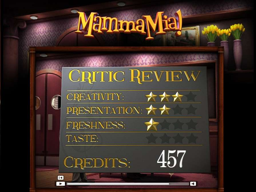 Game Review Mamma Mia