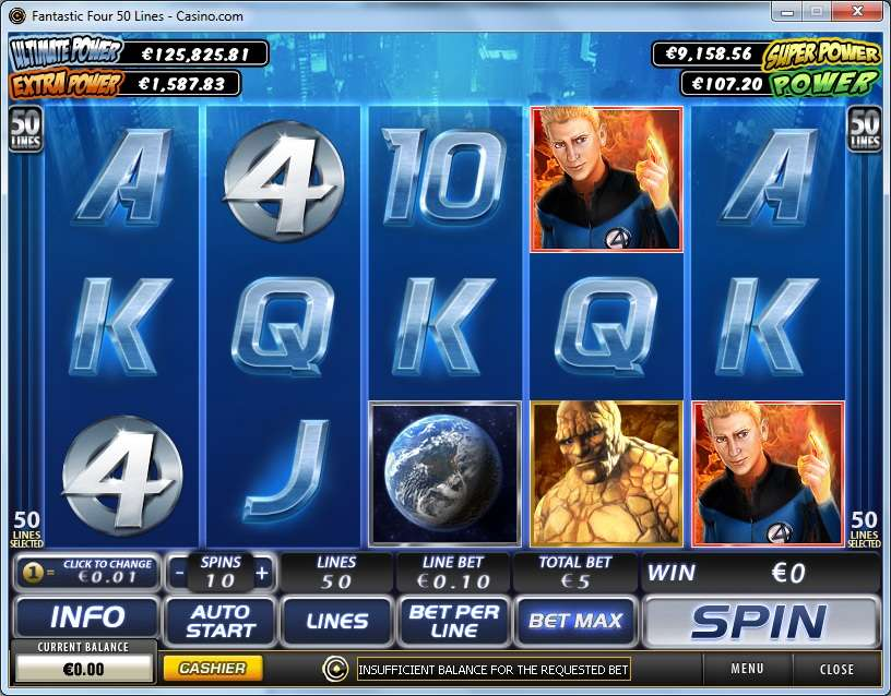 Game Review Fantastic Four - 50 Lines