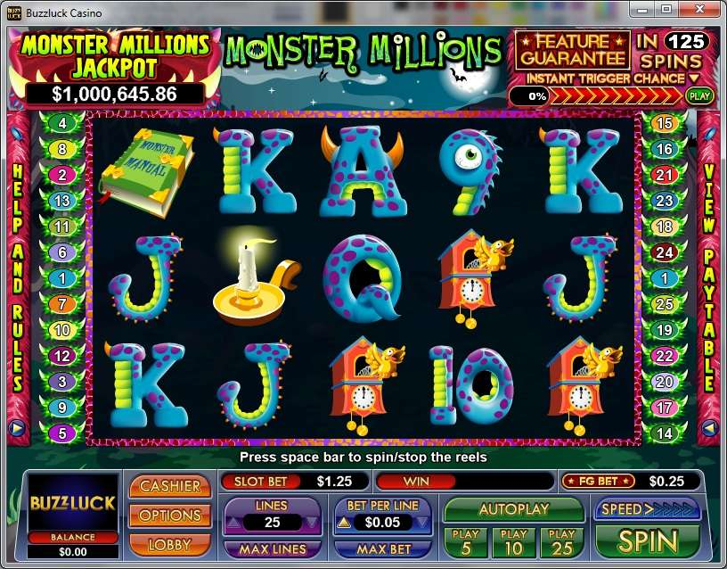 Game Review Monster Millions
