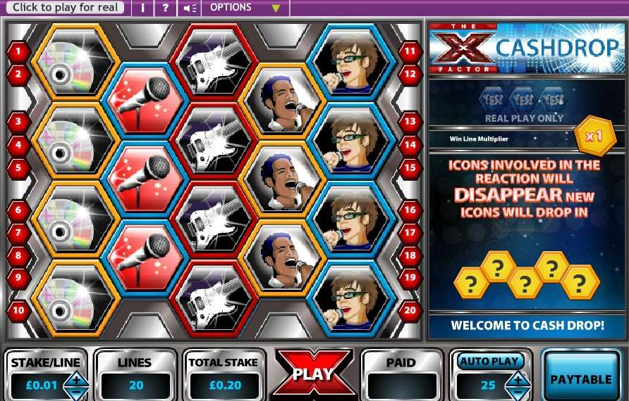 Game Review X - Factor Cashdrop