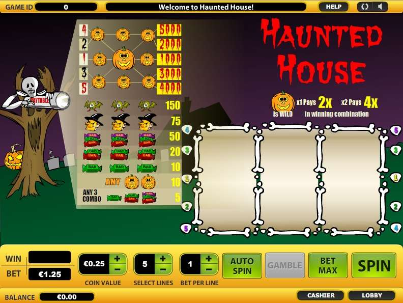 Game Review Haunted House