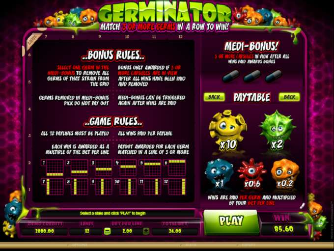 Game Review Germinator