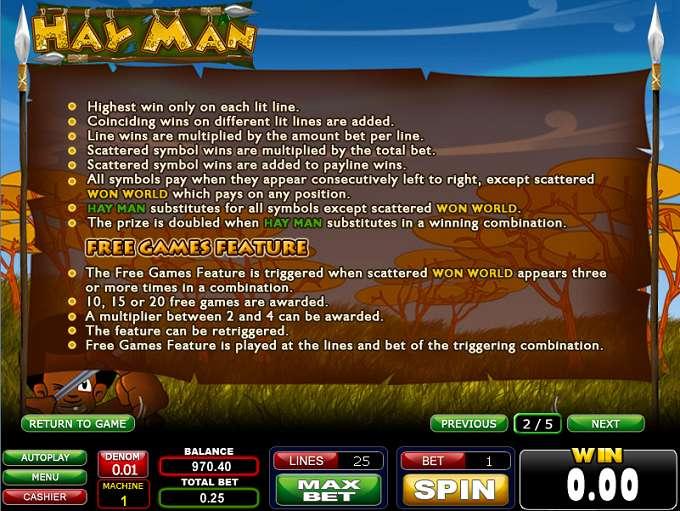 Game Review Hay Man