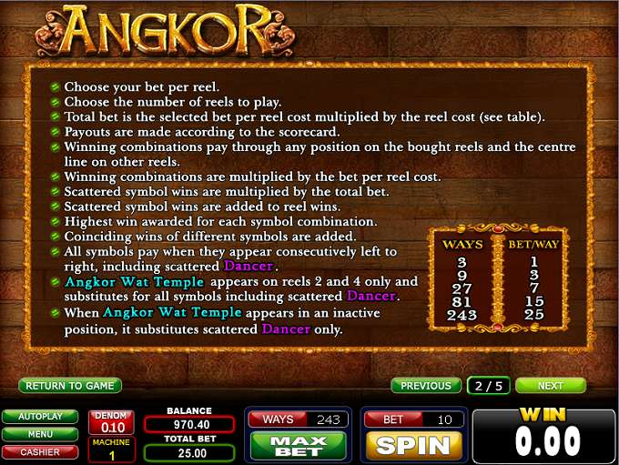 Game Review Angkor