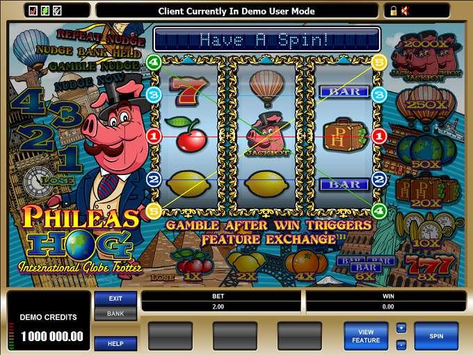 Game Review Phileas Hog