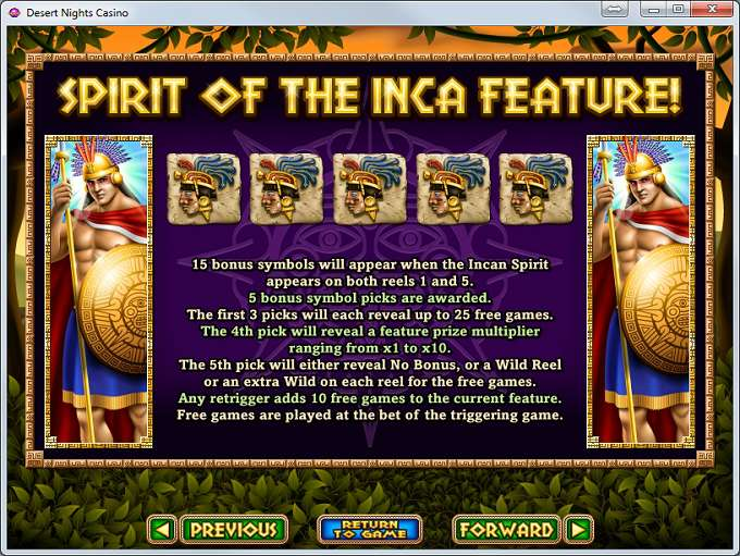 Game Review Spirit of the Inca