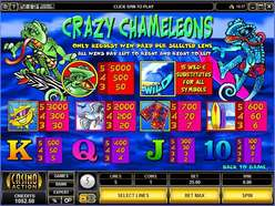 Game Review Crazy Chameleons