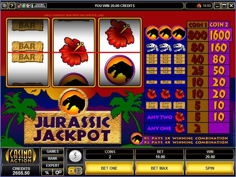 Game Review Jurassic Jackpot