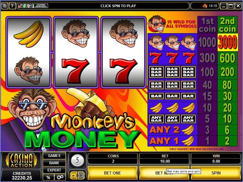 Game Review Monkey's Money