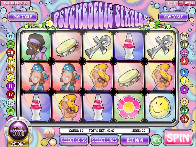 Game Review Psychedelic Sixties