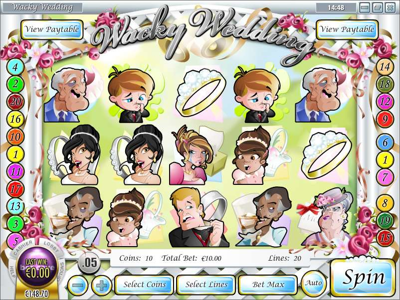 Game Review Wacky Wedding