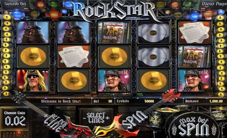 Game Review Rock Star