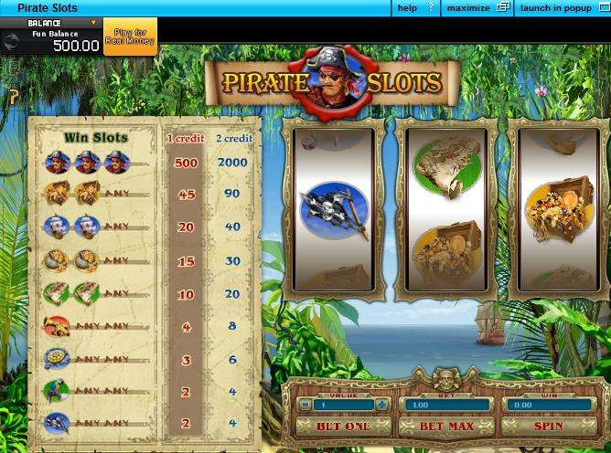 Game Review Pirate Slots