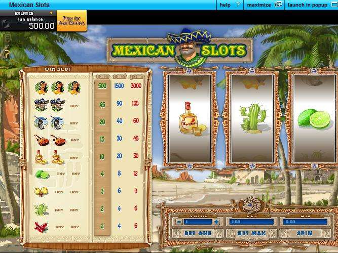 Game Review Mexican Slots