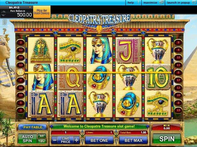 Game Review Cleopatra Treasure