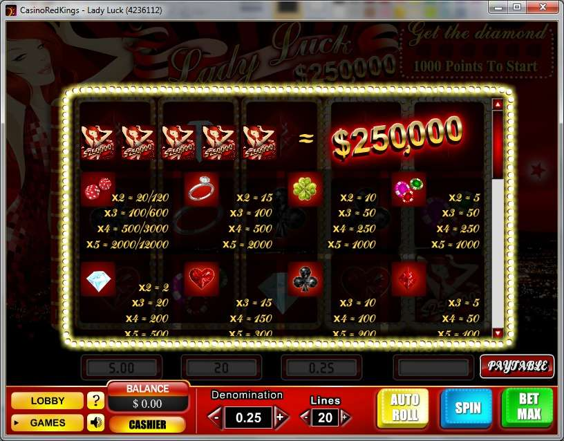 Game Review Lady Luck