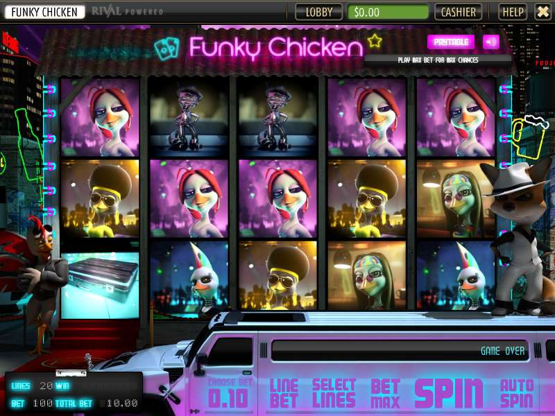 Game Review Funky Chicken