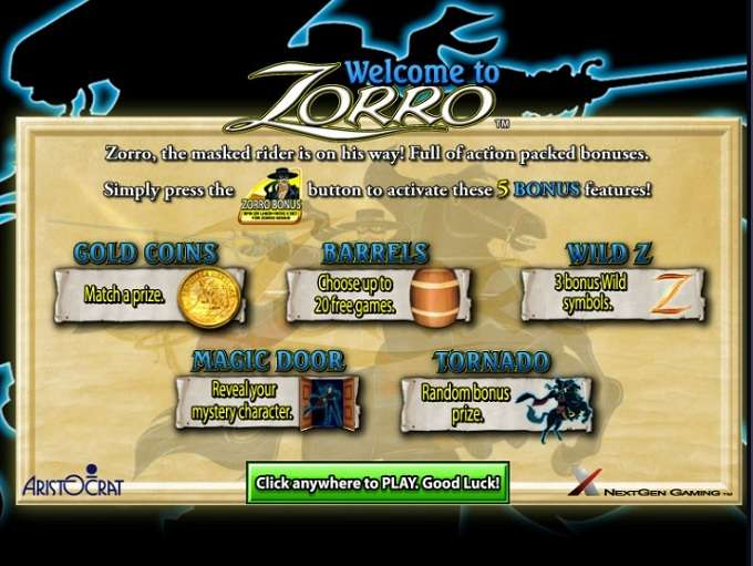 Game Review Zorro