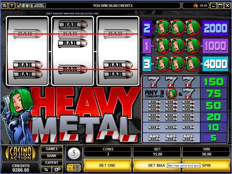 Game Review Heavy Metal