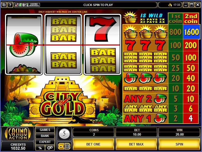 Game Review City of Gold