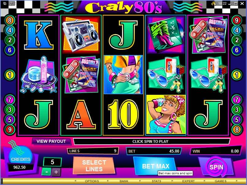 Game Review Crazy 80's