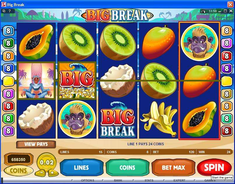 Big Break™ Slot spel spela gratis i Microgaming Online Casinon