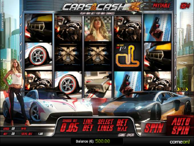 Game Review Cars and Cash