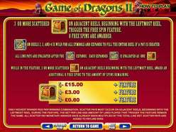 Game Review Game of Dragons II