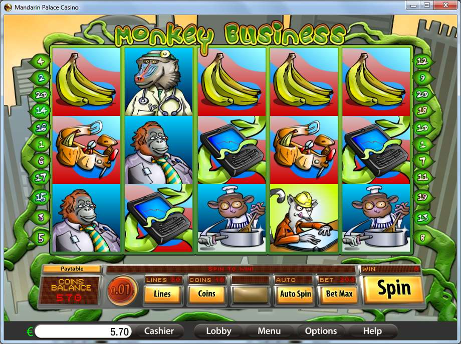 Game Review Monkey Business