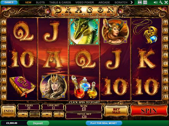 Play Dragon Kingdom Online Slots at Casino.com