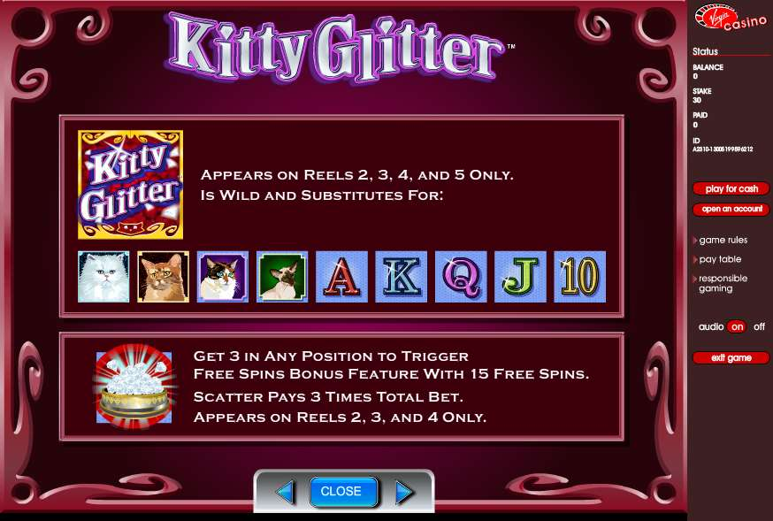 Game Review Kitty Glitter