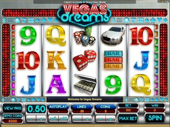 Game Review Vegas Dreams