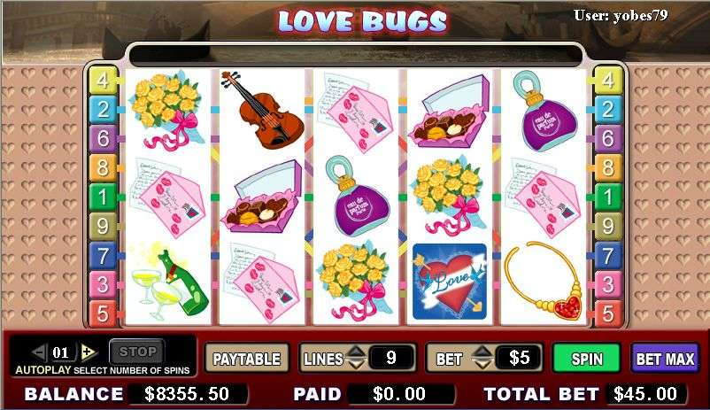 Game Review Love Bugs