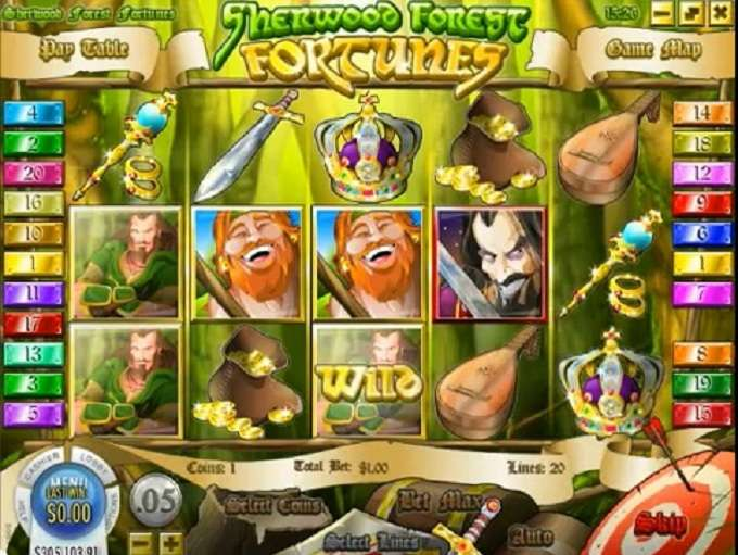 Game Review Sherwood Forest Fortunes