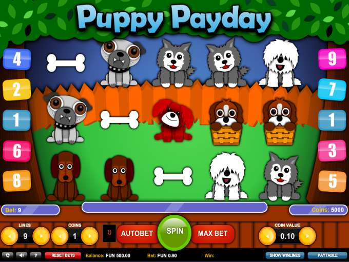 Game Review Puppy Payday