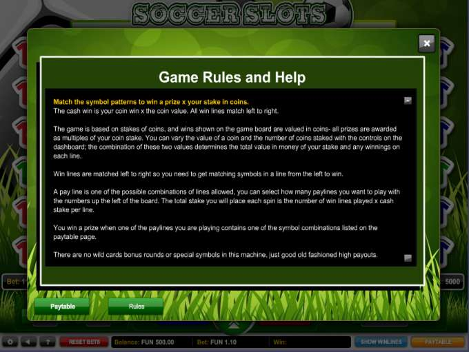 Game Review Soccer Slots