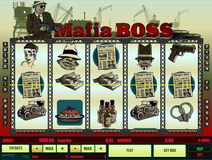 Game Review Mafia Boss