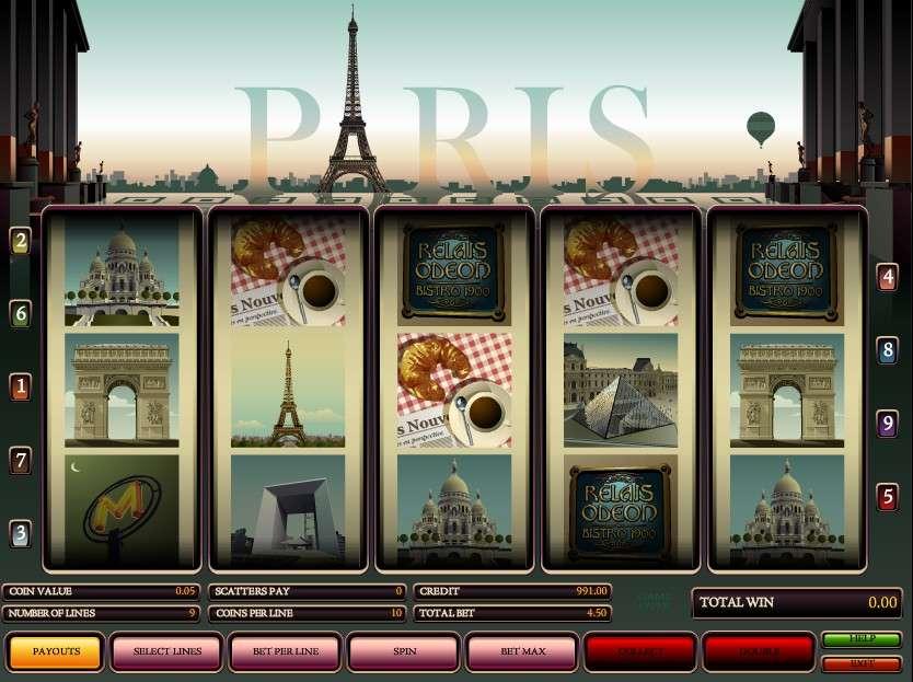 Paris Автомат Игровой Это