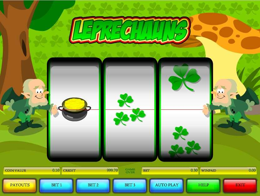 Game Review Leprechauns