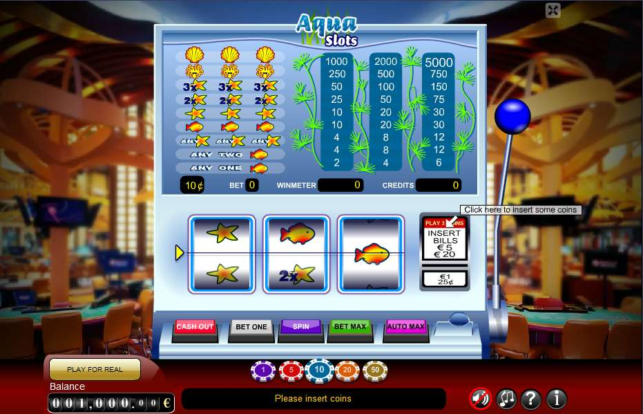 Game Review Aqua Slot