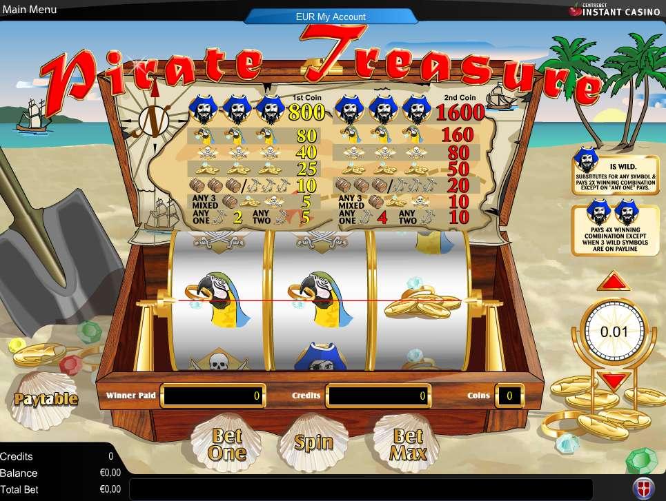Game Review Pirate Treasure