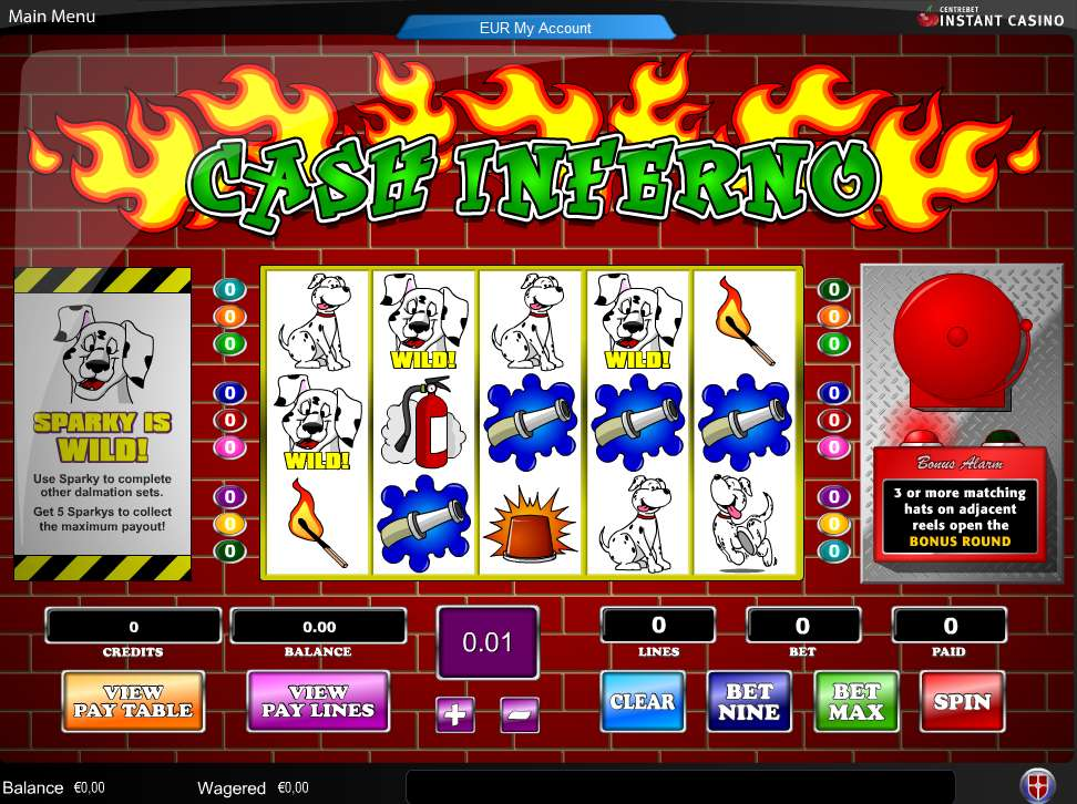 Game Review Cash Inferno