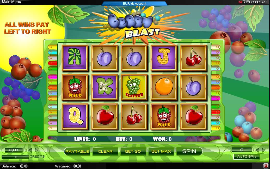 Game Review Berry Blast