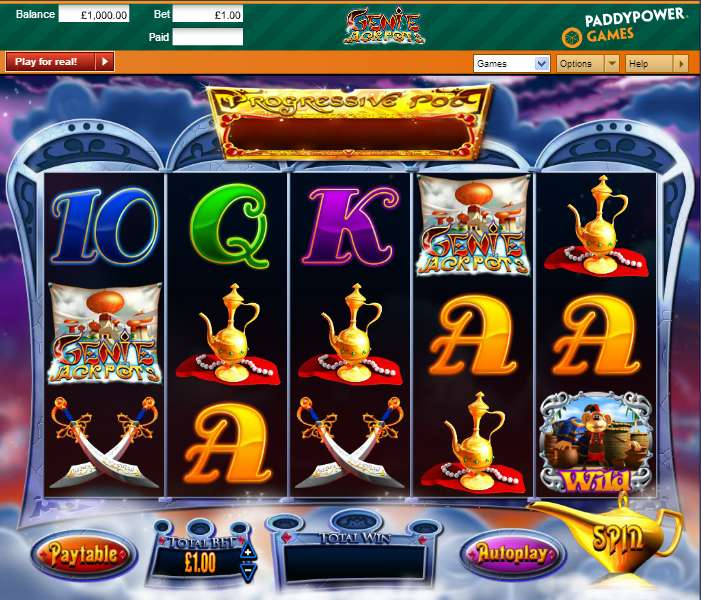Game Review Genie Jackpots