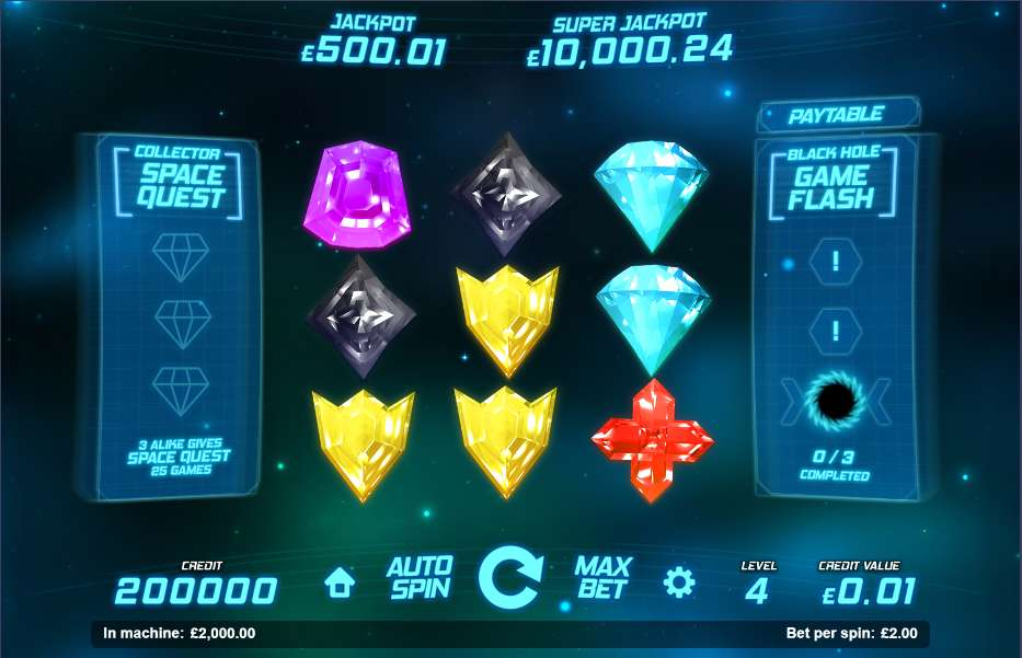 Game Review Space Gems