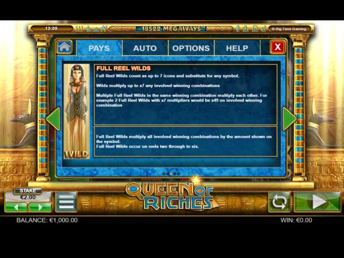 Game Review Queen of Riches